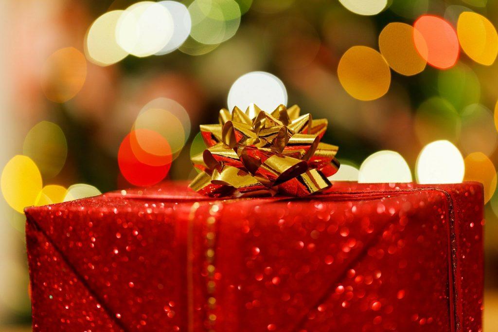 Christmas Present Holiday Giving