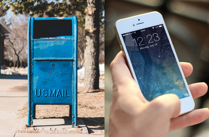 Mailbox and Phone Donations